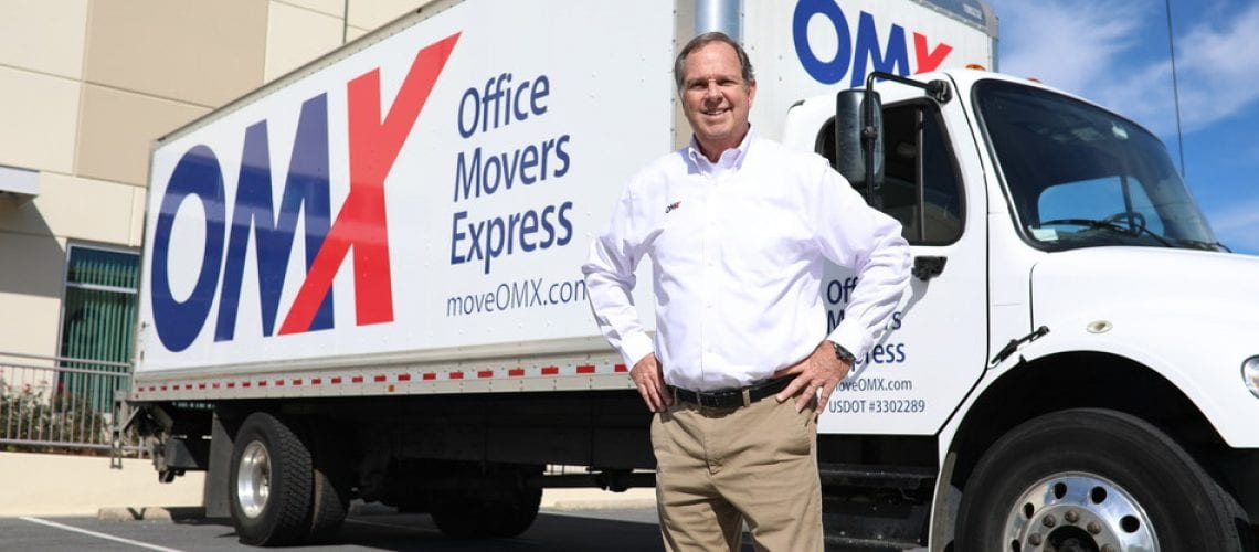 BELTSVILLE, MD – Office Movers Express (OMX) Vice President James A. Durfee manages the rebranded, full-service moving subsidiary of Washington Express, the region's oldest and largest courier company. The newly-launched moving company is the only mover exclusively serving business in DC, Md. and Northern Va. and specializes in short-notice internal or external office moves of all sizes. For nearly 40 years the office mover had operated as a division of parent Company Washington Express